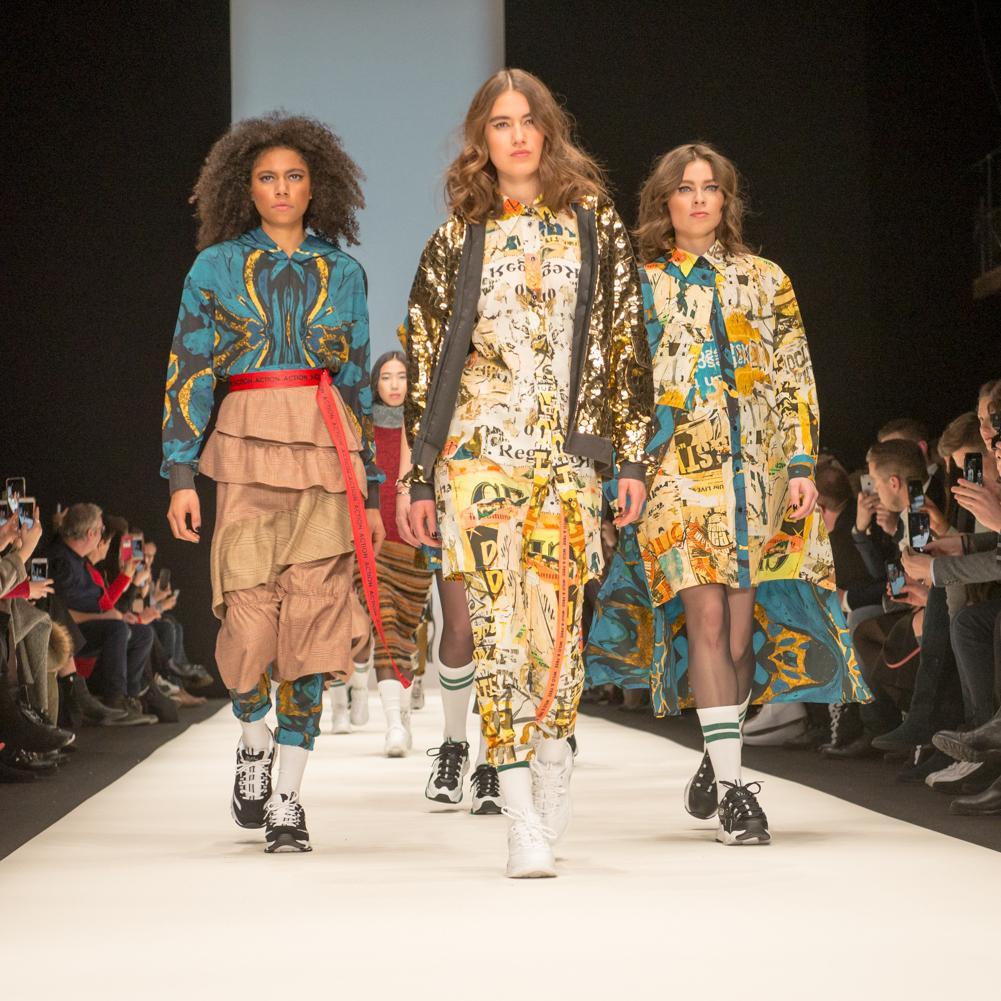 Rebekka Ruétz Fashion Show während der Berlin Fashion Week. obs/Skechers USA Deutschland GmbH/Martin Loos