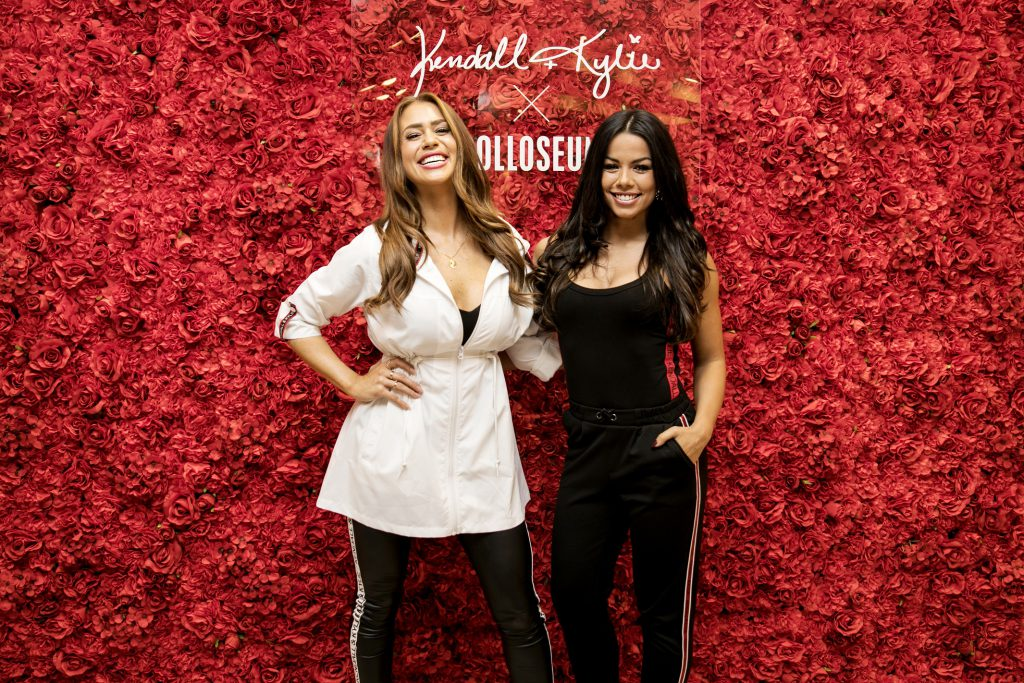 Jessica Paszka und Fernanda Brandao beim Launch der Kendall + Kylie X COLLOSEUM Collection  (obs/Colloseum/COLLOSEUM)