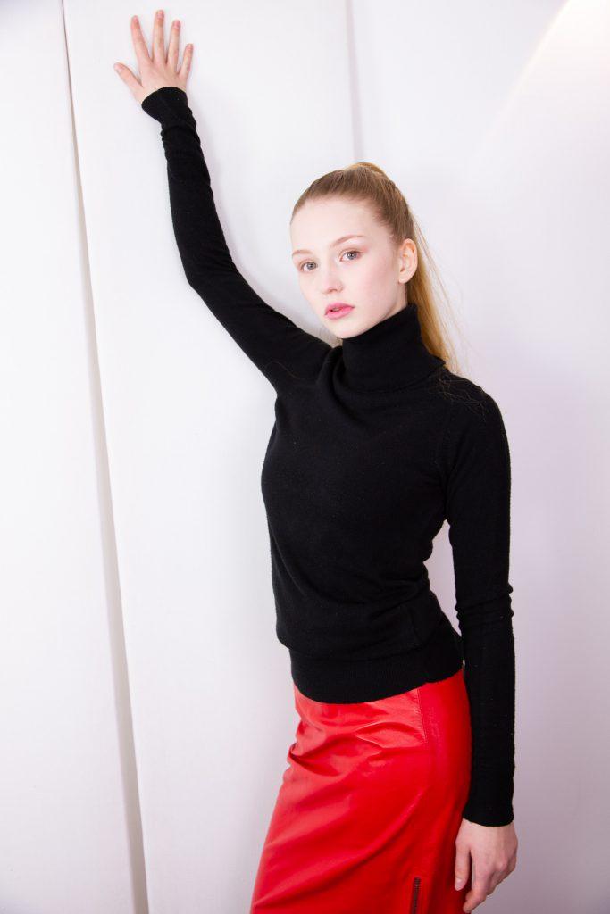 New Face Model Mia-Lucia Feder, Agentur myfab Models. Haare + Make-up: Irina Geimbuch.  obs/Myfab Models